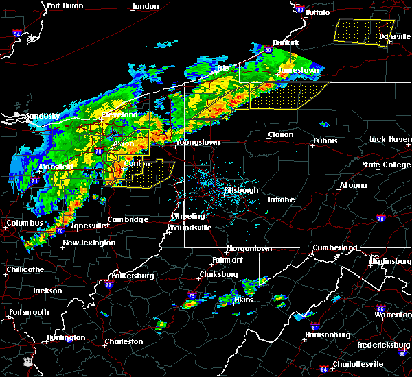 Radar Image for Severe Thunderstorms near Mineral City, OH at 6/12/2015 4:35 PM EDT