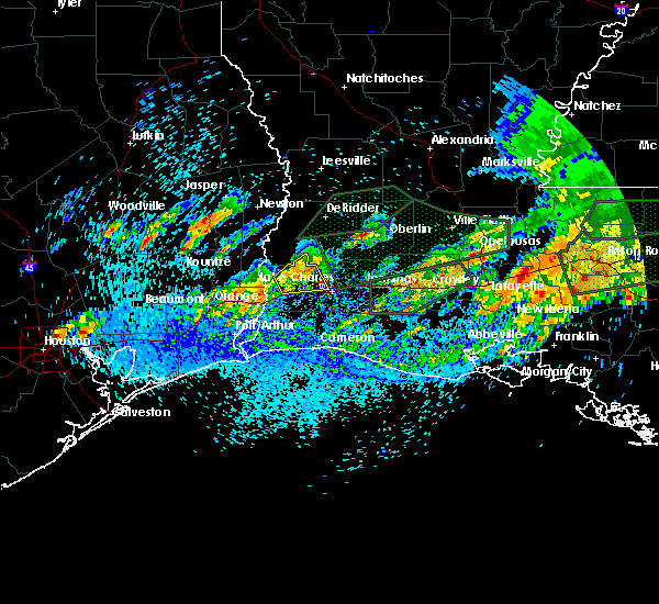 Radar Image for Severe Thunderstorms near Lake Charles, LA at 5/9/2019 4:39 PM CDT