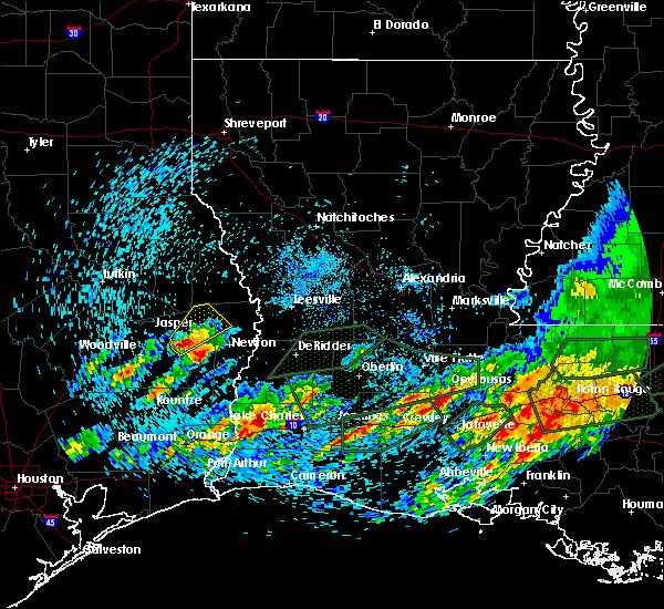 Radar Image for Severe Thunderstorms near Sam Rayburn, TX at 5/9/2019 5:06 PM CDT