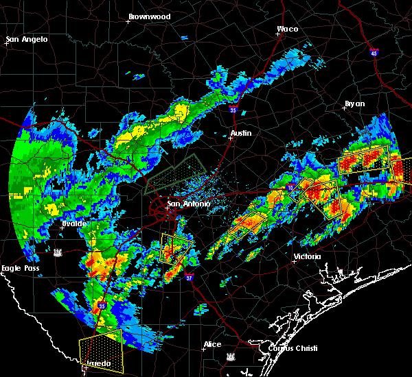 Radar Image for Severe Thunderstorms near Christine, TX at 5/9/2019 7:24 PM CDT