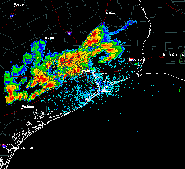 Radar Image for Severe Thunderstorms near Bunker Hill Village, TX at 5/9/2019 7:57 PM CDT
