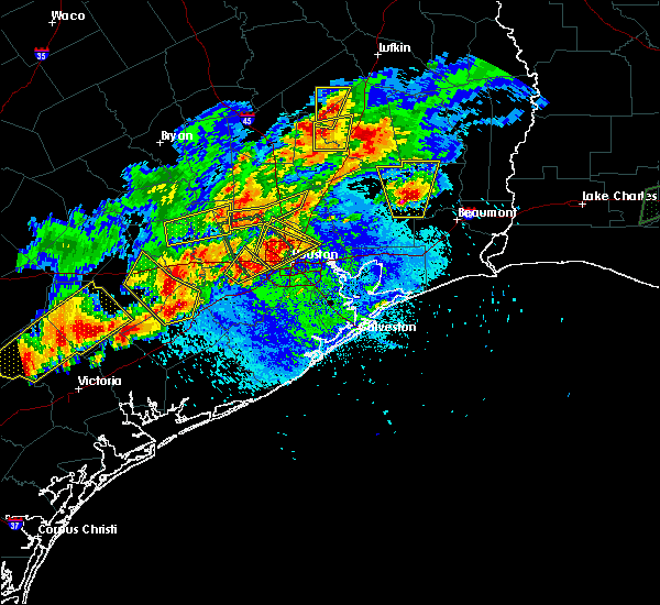 Radar Image for Severe Thunderstorms near Rosenberg, TX at 5/9/2019 8:33 PM CDT