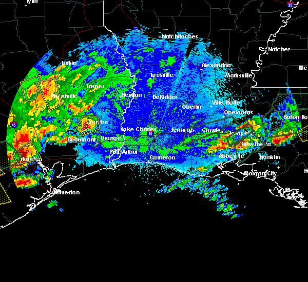 Radar Image for Severe Thunderstorms near Kountze, TX at 5/9/2019 9:15 PM CDT