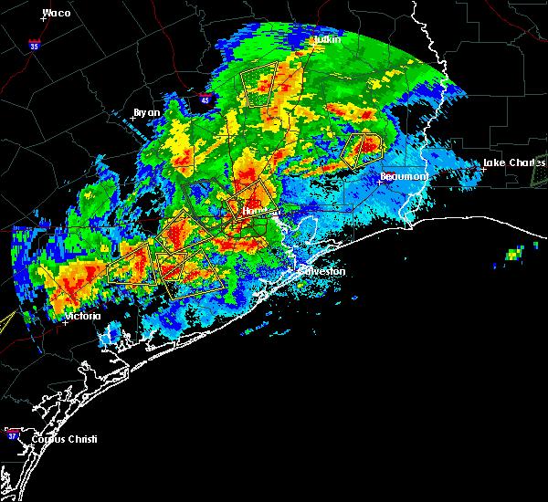 Radar Image for Severe Thunderstorms near Wharton, TX at 5/9/2019 9:29 PM CDT