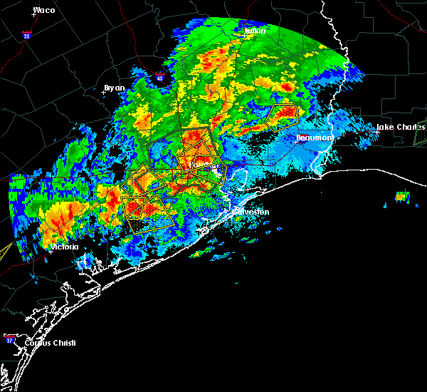 Radar Image for Severe Thunderstorms near Channelview, TX at 5/9/2019 9:36 PM CDT