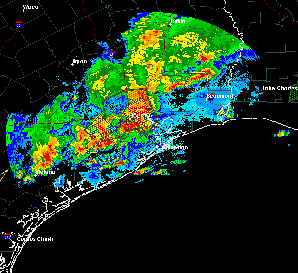 Radar Image for Severe Thunderstorms near Channelview, TX at 5/9/2019 9:47 PM CDT