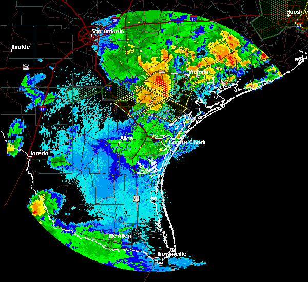 Radar Image for Severe Thunderstorms near Bayside, TX at 5/9/2019 10:40 PM CDT