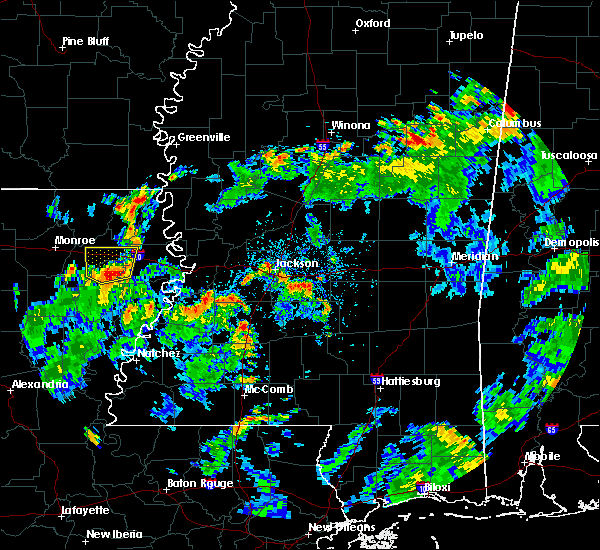 Radar Image for Severe Thunderstorms near Rayville, LA at 6/12/2015 3:42 PM CDT