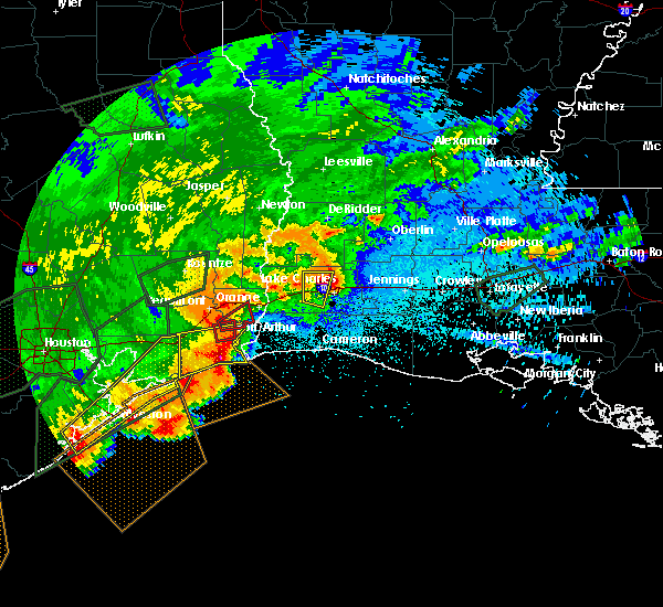 Radar Image for Severe Thunderstorms near Beaumont, TX at 5/10/2019 12:46 AM CDT