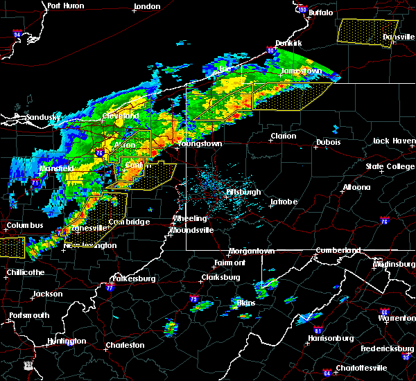 Radar Image for Severe Thunderstorms near Washingtonville, OH at 6/12/2015 4:46 PM EDT