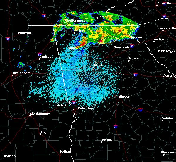 Radar Image for Severe Thunderstorms near Dawsonville, GA at 5/11/2019 6:15 AM EDT