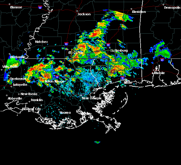 Radar Image for Severe Thunderstorms near Central, LA at 5/11/2019 1:26 PM CDT