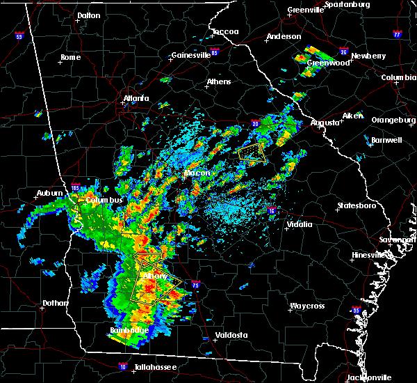 Radar Image for Severe Thunderstorms near De Soto, GA at 5/11/2019 3:34 PM EDT