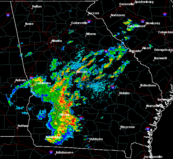 Radar Image for Severe Thunderstorms near Jeffersonville, GA at 5/11/2019 3:45 PM EDT