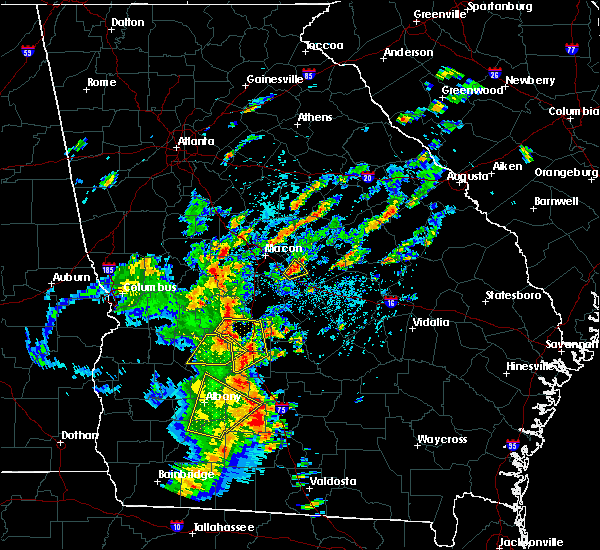 Radar Image for Severe Thunderstorms near Vienna, GA at 5/11/2019 3:54 PM EDT
