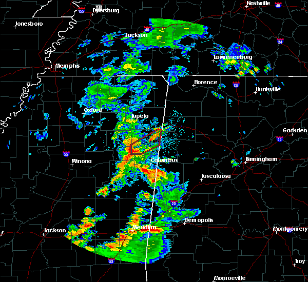 Radar Image for Severe Thunderstorms near Hamilton, MS at 5/11/2019 3:05 PM CDT