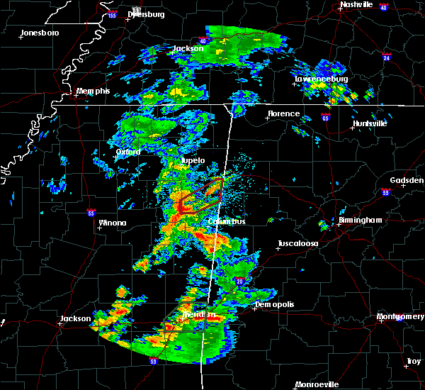 Radar Image for Severe Thunderstorms near Hamilton, MS at 5/11/2019 3:12 PM CDT