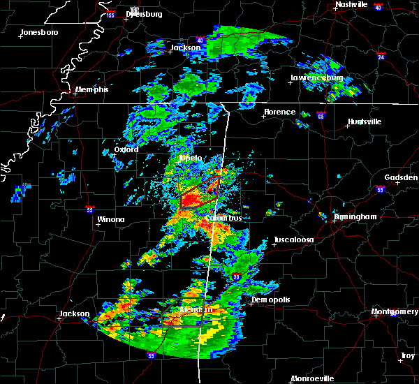 Radar Image for Severe Thunderstorms near Hamilton, MS at 5/11/2019 3:20 PM CDT
