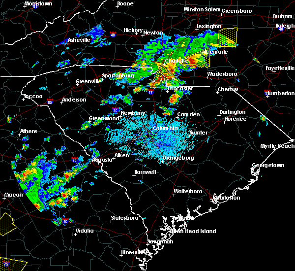 Radar Image for Severe Thunderstorms near Charlotte, NC at 5/11/2019 4:27 PM EDT