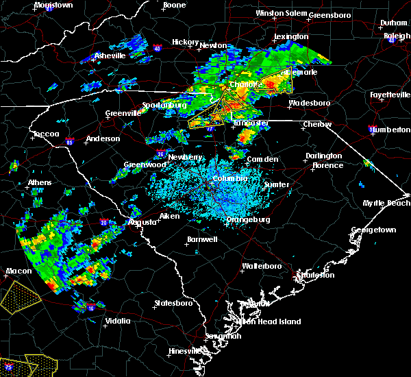 Radar Image for Severe Thunderstorms near Rock Hill, SC at 5/11/2019 4:34 PM EDT