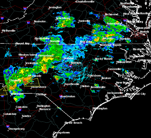 Radar Image for Severe Thunderstorms near Norwood, NC at 5/11/2019 4:39 PM EDT