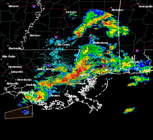 Radar Image for Severe Thunderstorms near South Vacherie, LA at 5/12/2019 5:10 AM CDT