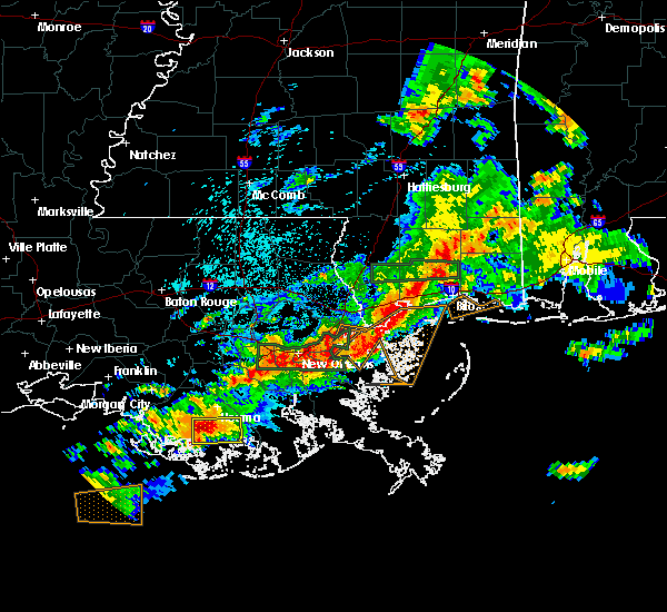 Radar Image for Severe Thunderstorms near Dulac, LA at 5/12/2019 5:45 AM CDT