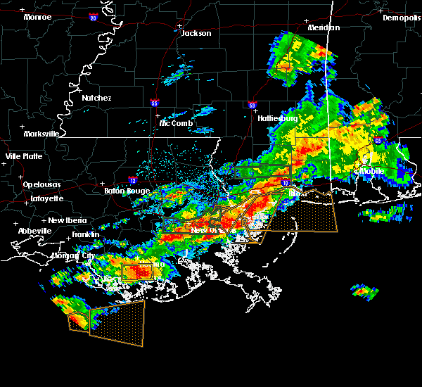 Radar Image for Severe Thunderstorms near Dulac, LA at 5/12/2019 6:03 AM CDT