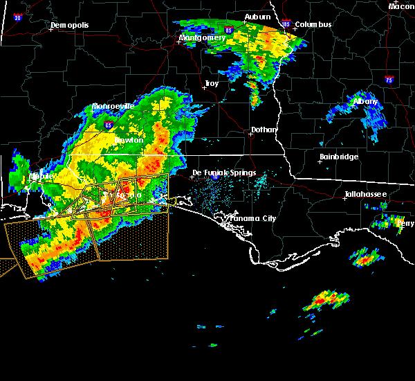 Radar Image for Severe Thunderstorms near Ponce de Leon, FL at 5/12/2019 9:13 AM CDT