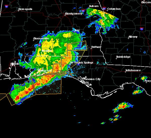 Radar Image for Severe Thunderstorms near Destin, FL at 5/12/2019 9:40 AM CDT