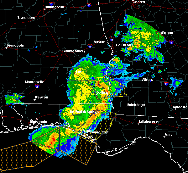 Radar Image for Severe Thunderstorms near Colquitt, GA at 5/12/2019 11:58 AM EDT