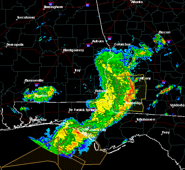 Radar Image for Severe Thunderstorms near Colquitt, GA at 5/12/2019 1:07 PM EDT