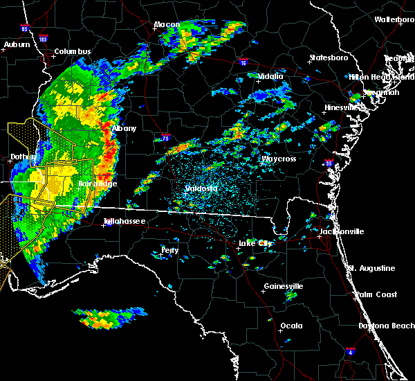 Radar Image for Severe Thunderstorms near Moultrie, GA at 5/12/2019 1:18 PM EDT