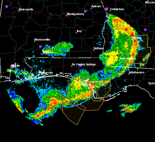 Radar Image for Severe Thunderstorms near Panama City, FL at 5/12/2019 1:36 PM EDT