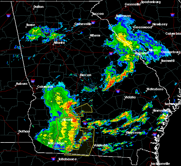 Radar Image for Severe Thunderstorms near Rochelle, GA at 5/12/2019 1:54 PM EDT