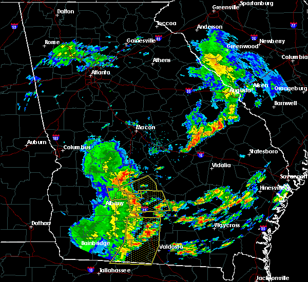 Radar Image for Severe Thunderstorms near Fitzgerald, GA at 5/12/2019 2:03 PM EDT