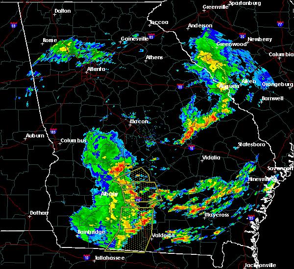 Radar Image for Severe Thunderstorms near Ashburn, GA at 5/12/2019 2:10 PM EDT