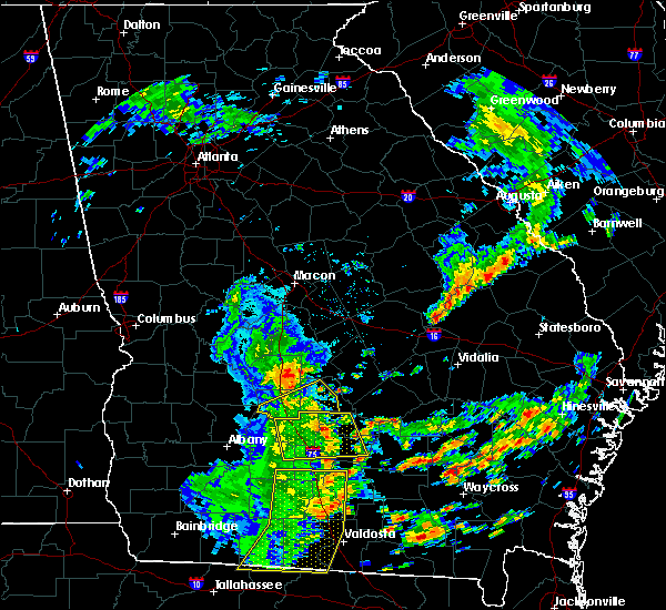 Radar Image for Severe Thunderstorms near Rochelle, GA at 5/12/2019 2:24 PM EDT