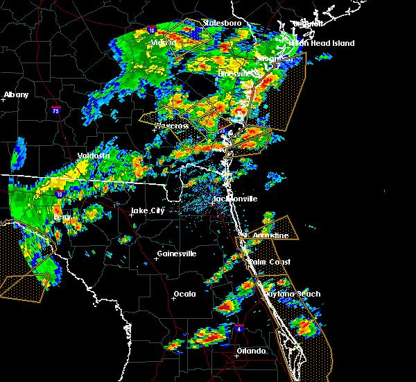 Radar Image for Severe Thunderstorms near Darien, GA at 5/12/2019 4:01 PM EDT