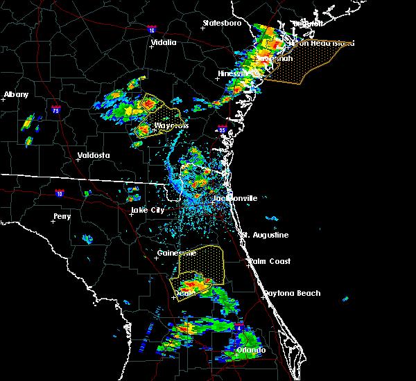 Radar Image for Severe Thunderstorms near Ocala, FL at 6/12/2015 4:59 PM EDT