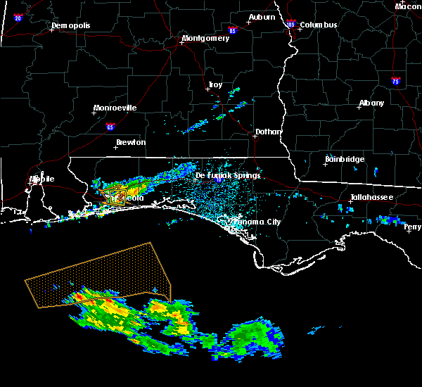 Radar Image for Severe Thunderstorms near Midway, FL at 5/13/2019 3:38 AM CDT