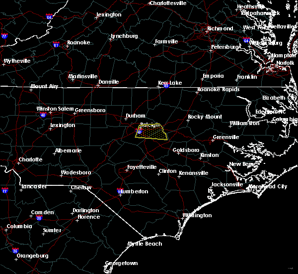 Radar Image for Severe Thunderstorms near Archer Lodge, NC at 5/13/2019 10:56 AM EDT