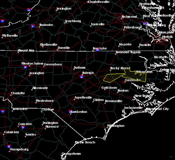 Radar Image for Severe Thunderstorms near Pinetops, NC at 5/13/2019 11:52 AM EDT