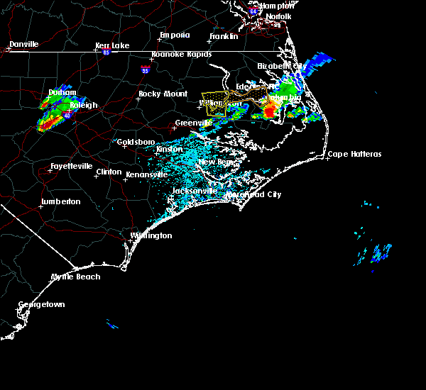 Radar Image for Severe Thunderstorms near Columbia, NC at 5/13/2019 1:12 PM EDT