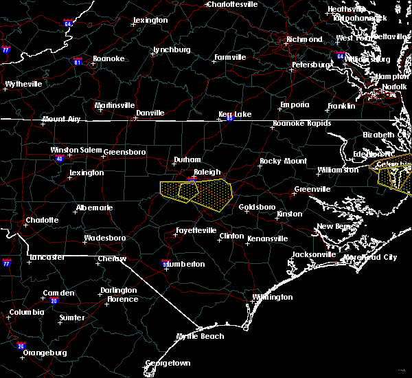 Radar Image for Severe Thunderstorms near Kenly, NC at 5/13/2019 1:29 PM EDT