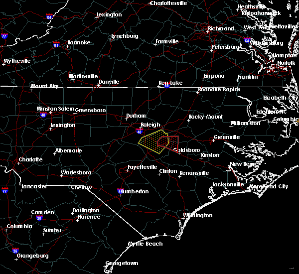 Radar Image for Severe Thunderstorms near Smithfield, NC at 5/13/2019 2:09 PM EDT