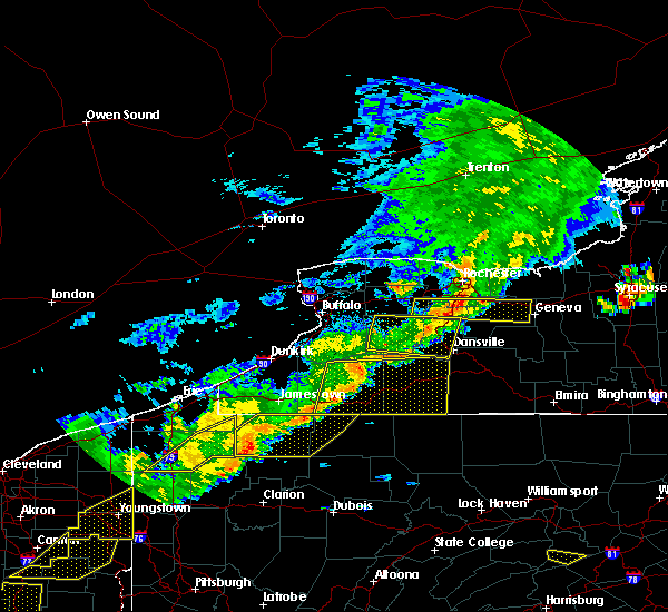 Radar Image for Severe Thunderstorms near Livonia, NY at 6/12/2015 5:02 PM EDT