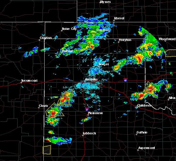 Radar Image for Severe Thunderstorms near Dimmitt, TX at 6/12/2015 4:03 PM CDT