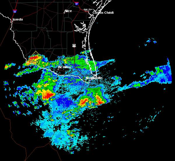 Radar Image for Severe Thunderstorms near Rio Grande City, TX at 5/14/2019 6:35 AM CDT