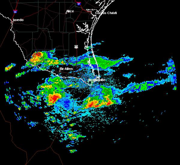 Radar Image for Severe Thunderstorms near Rio Grande City, TX at 5/14/2019 6:58 AM CDT